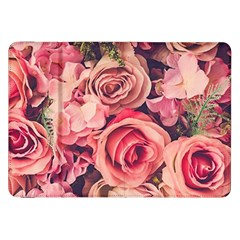 Pink Roses Samsung Galaxy Tab 8 9  P7300 Flip Case by Brittlevirginclothing