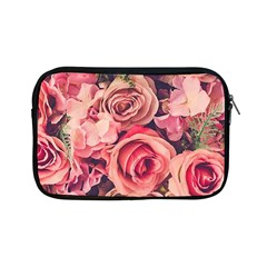 Pink Roses Apple Ipad Mini Zipper Cases by Brittlevirginclothing