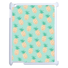 Pineapple Apple Ipad 2 Case (white) by Brittlevirginclothing