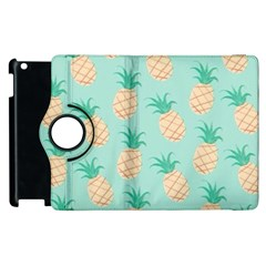 Pineapple Apple Ipad 2 Flip 360 Case by Brittlevirginclothing