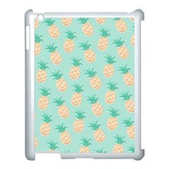 Pineapple Apple Ipad 3/4 Case (white) by Brittlevirginclothing