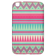Cute Pink Bohemian Samsung Galaxy Tab 3 (8 ) T3100 Hardshell Case  by Brittlevirginclothing