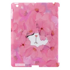 Cute Hidden Kitty Apple Ipad 3/4 Hardshell Case (compatible With Smart Cover) by Brittlevirginclothing