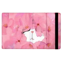 Cute Hidden Kitty Apple Ipad 3/4 Flip Case by Brittlevirginclothing