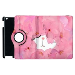 Cute Hidden Kitty Apple Ipad 2 Flip 360 Case by Brittlevirginclothing