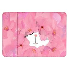 Cute Hidden Kitty Samsung Galaxy Tab 8 9  P7300 Flip Case by Brittlevirginclothing