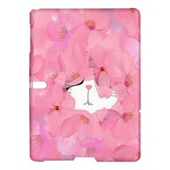 Cute Hidden Kitty Samsung Galaxy Tab S (10 5 ) Hardshell Case  by Brittlevirginclothing