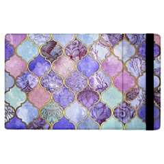 Blue Moroccan Mosaic Apple Ipad 3/4 Flip Case by Brittlevirginclothing