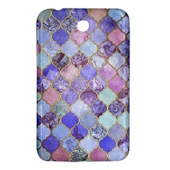 Blue Moroccan Mosaic Samsung Galaxy Tab 3 (7 ) P3200 Hardshell Case  by Brittlevirginclothing