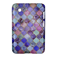 Blue Moroccan Mosaic Samsung Galaxy Tab 2 (7 ) P3100 Hardshell Case  by Brittlevirginclothing