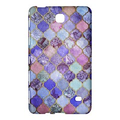 Blue Moroccan Mosaic Samsung Galaxy Tab 4 (8 ) Hardshell Case  by Brittlevirginclothing