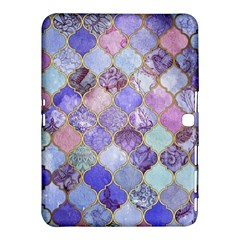 Blue Moroccan Mosaic Samsung Galaxy Tab 4 (10 1 ) Hardshell Case  by Brittlevirginclothing