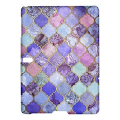 Blue Moroccan Mosaic Samsung Galaxy Tab S (10 5 ) Hardshell Case  by Brittlevirginclothing