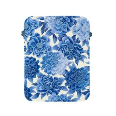 Blue Flower Apple Ipad 2/3/4 Protective Soft Cases by Brittlevirginclothing