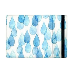 Rain Drops Apple Ipad Mini Flip Case by Brittlevirginclothing