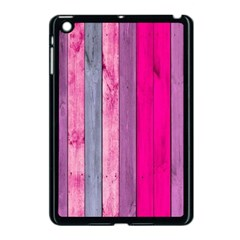 Pink Wood Apple Ipad Mini Case (black) by Brittlevirginclothing
