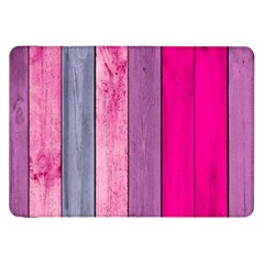 Pink Wood Samsung Galaxy Tab 8 9  P7300 Flip Case by Brittlevirginclothing