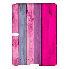 Pink Wood Samsung Galaxy Tab S (10 5 ) Hardshell Case  by Brittlevirginclothing