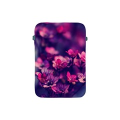 Blurry Flower Apple Ipad Mini Protective Soft Cases by Brittlevirginclothing