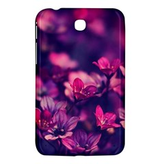 Blurry Flower Samsung Galaxy Tab 3 (7 ) P3200 Hardshell Case  by Brittlevirginclothing