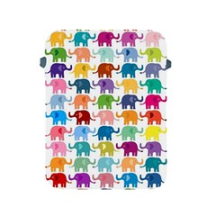 Cute Colorful Elephants Apple Ipad 2/3/4 Protective Soft Cases