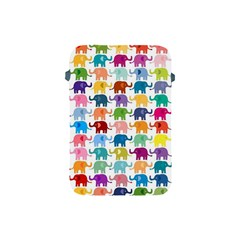 Cute Colorful Elephants Apple Ipad Mini Protective Soft Cases by Brittlevirginclothing