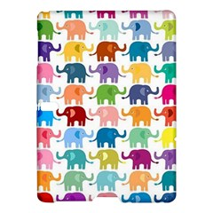 Cute Colorful Elephants Samsung Galaxy Tab S (10 5 ) Hardshell Case  by Brittlevirginclothing