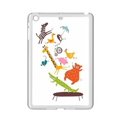 Cute Cartoon  Ipad Mini 2 Enamel Coated Cases by Brittlevirginclothing