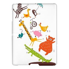 Cute Cartoon  Samsung Galaxy Tab S (10 5 ) Hardshell Case  by Brittlevirginclothing