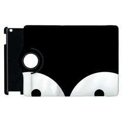 Cute Pinguin Apple Ipad 3/4 Flip 360 Case by Brittlevirginclothing