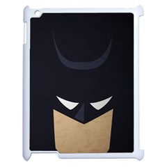 Batman Apple Ipad 2 Case (white) by Brittlevirginclothing