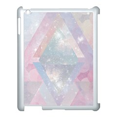 Pastel Crystal Apple Ipad 3/4 Case (white) by Brittlevirginclothing