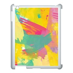 Paint Brush Apple Ipad 3/4 Case (white) by Brittlevirginclothing