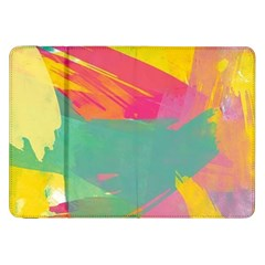 Paint Brush Samsung Galaxy Tab 8 9  P7300 Flip Case by Brittlevirginclothing