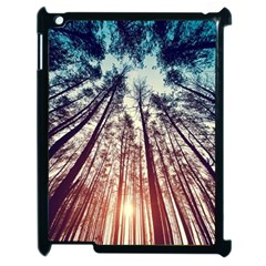Up View Forest  Apple Ipad 2 Case (black) by Brittlevirginclothing