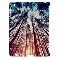 Up View Forest  Apple Ipad 3/4 Hardshell Case (compatible With Smart Cover) by Brittlevirginclothing