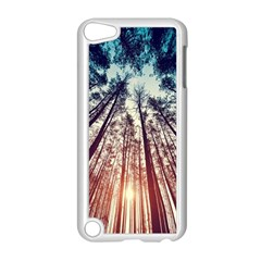 Up View Forest  Apple Ipod Touch 5 Case (white) by Brittlevirginclothing