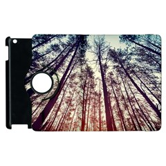 Up View Forest  Apple Ipad 2 Flip 360 Case by Brittlevirginclothing