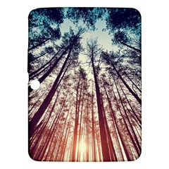 Up View Forest  Samsung Galaxy Tab 3 (10 1 ) P5200 Hardshell Case  by Brittlevirginclothing