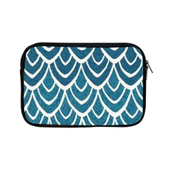 Blue Fish Scale  Apple Ipad Mini Zipper Cases by Brittlevirginclothing