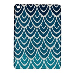 Blue Fish Scale  Ipad Air 2 Hardshell Cases by Brittlevirginclothing