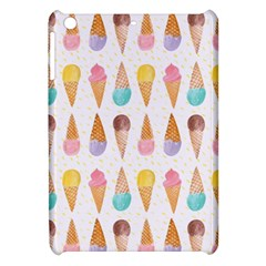 Cute Ice Cream Apple Ipad Mini Hardshell Case by Brittlevirginclothing