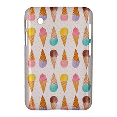 Cute Ice Cream Samsung Galaxy Tab 2 (7 ) P3100 Hardshell Case  by Brittlevirginclothing