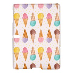 Cute Ice Cream Samsung Galaxy Tab S (10 5 ) Hardshell Case  by Brittlevirginclothing