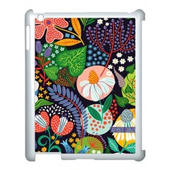 Japanese Inspired Apple Ipad 3/4 Case (white) by Brittlevirginclothing