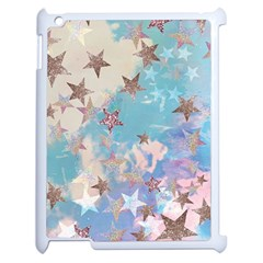 Pastel Stars Apple Ipad 2 Case (white) by Brittlevirginclothing