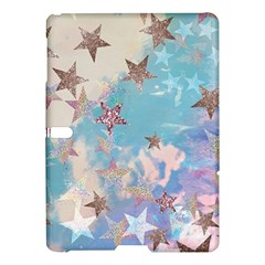 Pastel Stars Samsung Galaxy Tab S (10 5 ) Hardshell Case  by Brittlevirginclothing