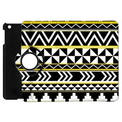 Black Bohemian Apple Ipad Mini Flip 360 Case by Brittlevirginclothing