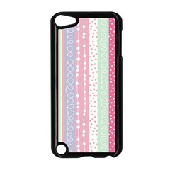 Pink Wood  Apple Ipod Touch 5 Case (black) by Brittlevirginclothing
