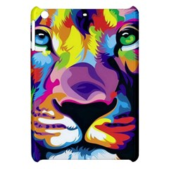 Colorful Lion Apple Ipad Mini Hardshell Case by Brittlevirginclothing
